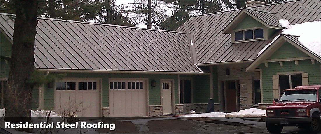 Beautiful Residential Steel Roofing