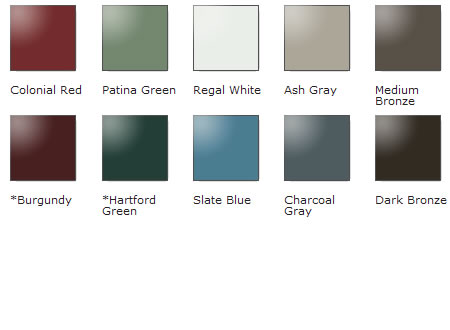 Metal Roof Color Chart Erkalnathandedecker